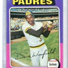 DAVE WINFIELD 1975 Topps #61  -  2nd year  -  Padres NY Yankees  -  BV $15