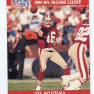 JOE MONTANA 1990 Pro Set LL #8 SF 49ers NOTRE DAME Irish QB