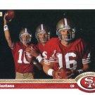 JOE MONTANA 1991 Upper Deck UD #54 SF 49ers NOTRE DAME Irish QB