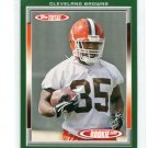 JEROME HARRISON 2006 Topps Total #506 ROOKIE Cleveland Browns WASHINGTON STATE WAZU Cougars