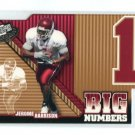 JEROME HARRISON 2006 Press Pass Big Numbers #BN-32 ROOKIE Cleveland Browns WASHINGTON STATE Cougars