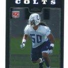 PHILLIP WHEELER 2008 Topps Chrome #TC249 ROOKIE Indianapolis Colts GEORGIA TECH