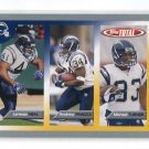 MICHAEL TURNER 2005 Topps Total SILVER SP #364 San Diego SD Chargers ATLANTA FALCONS