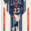 DOMONIQUE FOXWORTH 2005 Leaf Rookies & Stars R&S #142 ROOKIE Denver Broncos MARYLAND Terps