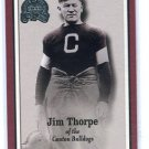 JIM THORPE 2000 Fleer Greats of the Game #81