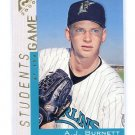 A.J. AJ BURNETT 2000 Topps Gallery Students of the Game #127 New York NY Yankees