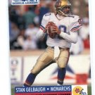 STAN GELBAUGH 1991 Pro Set WLAF #21 Maryland Terps QB