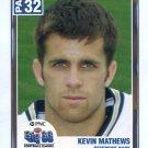 KEVIN MATTHEWS 2004 Big 33 Pennsylvania High School card INDIANA HOOSIERS