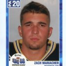 ZACH MARIACHER 2003 Big 33 High School card VILLANOVA