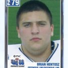 BRIAN HENTOSZ 2004 Big 33 High School card VILLANOVA