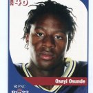 OSAYI OSUNDE 2005 Big 33 High School card VILLANOVA