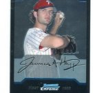 J.A. JA HAPP 2004 Bowman Chrome Draft Picks #BDP77 ROOKIE Phillies