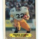 FRANCO HARRIS 1983 Topps Sticker #15 Steelers PENN STATE Nittany Lions