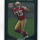 MICHAEL CRABTREE 2009 Bowman Chrome #135 ROOKIE SF 49ers TEXAS TECH Red Raiders