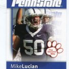 MIKE LUCIAN 2008 Penn State Second Mile OG