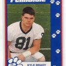 KYLE BRADY 1993 Penn State Second Mile NY JETS Patriots JAGUARS TE