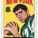 JOE NAMATH 1996 Topps #122 REPRINT INSERT New York NY Jets QB