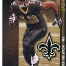 MARQUES COLSTON 2009 Fathead Tradeables Gameday #G74 New Orleans SAINTS