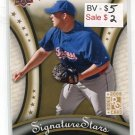 TOMMY HUNTER 2009 Upper Deck UD Signature Stars #119 ROOKIE  -  BV $5