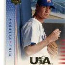 MIKE PELFREY 2005 Upper Deck USA #USA-42  -  BV $4