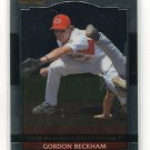 GORDON BECKHAM 2008 Razor Metal Exclusive ROOKIE #BA-GB Limited Print Run of 251 cards