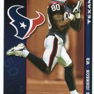 ANDRE JOHNSON 2009 Fathead Tradeables Gameday #G110 Houston Texans MIAMI Hurricanes Canes