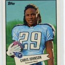 CHRIS JOHNSON 2010 Topps 1952 52 Bowman INSERT #52B-10 Tennessee TITANS