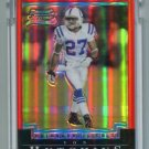VON HUTCHINS 2004 Bowman RED CHROME Uncirculated ROOKIE Colts OLE MISS Rebels #d/210