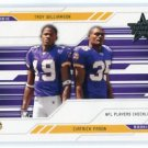 TROY WILLIAMSON / CIATRIC FASON 2005 Leaf Rookies & Stars #99 ROOKIE Vikings