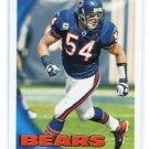 BRIAN URLACHER 2010 Topps #177 Chicago Bears