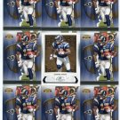 $.05 SALE:   (9) DONNIE AVERY lot St. Louis RAMS Houston