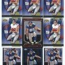 $.05 SALE:   (9) KEVIN BOSS lot New York NY Giants