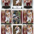 $.05 SALE:   (9) CHRIS COOLEY lot Washington Redskins