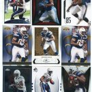 $.05 SALE:   (9) ANTONIO GATES lot San Diego SD CHARGERS Kent State