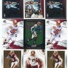 $.05 SALE:   (9) SANTANA MOSS lot Redskins MIAMI HURRICANES Canes