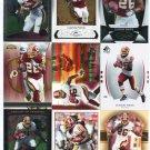 $.05 SALE:   (9) CLINTON PORTIS lot Redskins MIAMI HURRICANES Canes