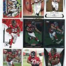 $.05 SALE:   (9) MICHAEL TURNER lot Atlanta Falcons CHARGERS