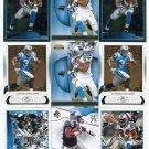 $.05 SALE:   (9) DeANGELO WILLIAMS lot Carolina Panthers MEMPHIS