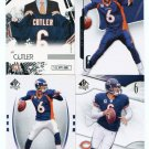 $.05 SALE:   (4) JAY CUTLER lot LIONS Broncos BEARS Vanderbilt QB