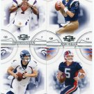 QUARTERBACK SALE:  (4) 2008 Donruss Thread QB lot