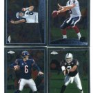 QUARTERBACK SALE:  (4) 2009 Topps Chrome QB lot