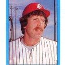MIKE SCHMIDT 1982 Topps Sticker #74 Philadelphia Phillies