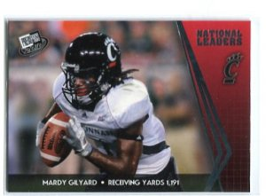 MARDY GILYARD 2010 Press Pass #72 ROOKIE Cincinnati Bearcats RAMS