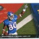 DEZMON BRISCO 2010 Press Pass #71 ROOKIE Kansas Jayhawks BENGALS
