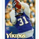 CHRIS COOK 2010 Topps #278 ROOKIE Vikings VIRGINIA Cavaliers