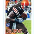 CARLTON MITCHELL 2010 Topps #192  ROOKIE Browns SOUTH Florida Bulls