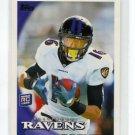 DAVID REED 2010 Topps #142 ROOKIE Ravens UTAH UTES WR