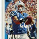 KEVIN THOMAS 2010 Topps #285 ROOKIE Colts USC Trojans CB