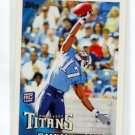DAMIAN WILLIAMS 2010 Topps #72 ROOKIE Titans USC Trojans WR