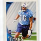 DERRICK MORGAN 2010 Topps #362 ROOKIE Titans GEORGIA TECH DE